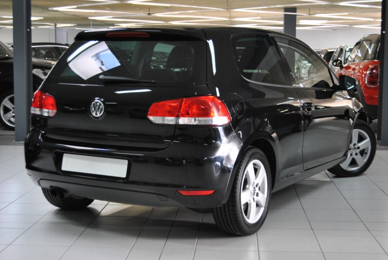 vw golf 6 tsi 122 ch confortline 3 portes noir. Black Bedroom Furniture Sets. Home Design Ideas